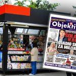 Danas u novinama Objektiv: Šolakov kartel oštetio državu za milijarde... (NASLOVNA STRANA)