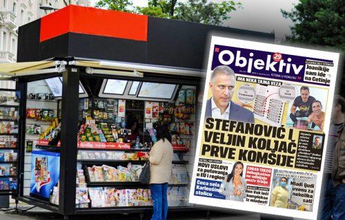 Danas u novinama Objektiv: Stefanović komšija koljača, Joanikije sam pošao na Cetinje (NASLOVNA STRANA)