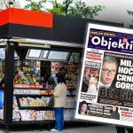 Danas u novinama Objektiv: Milo hoće Crnu Goru bez Srba, udade se Milica Mandić (NASLOVNA STRANA)