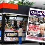 Danas u novinama Objektiv: Marija seli Slobine kosti na Cetinje, Rosu maltretira Srbe… (NASLOVNA STRANA)
