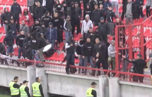 Strašan skandal u srpskom fudbalu: Navijači Vojvodine pretukli redara, pa mu oteli telefon (VIDEO)