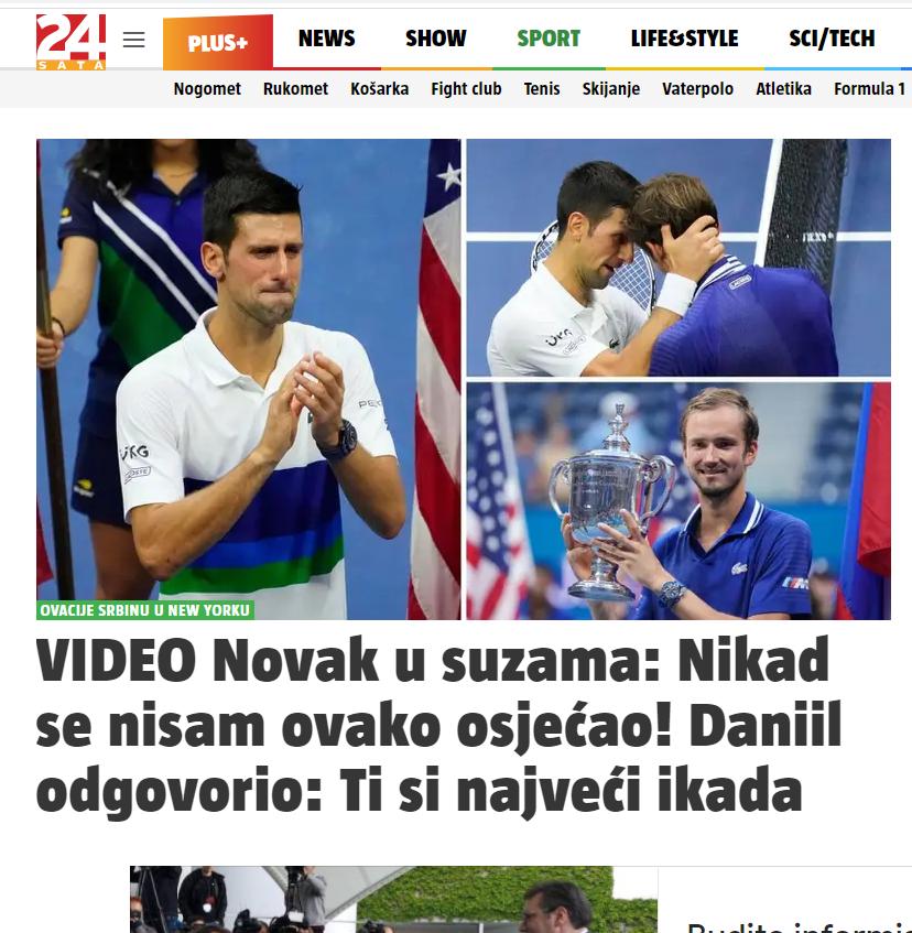 Hrvati Novak Đoković