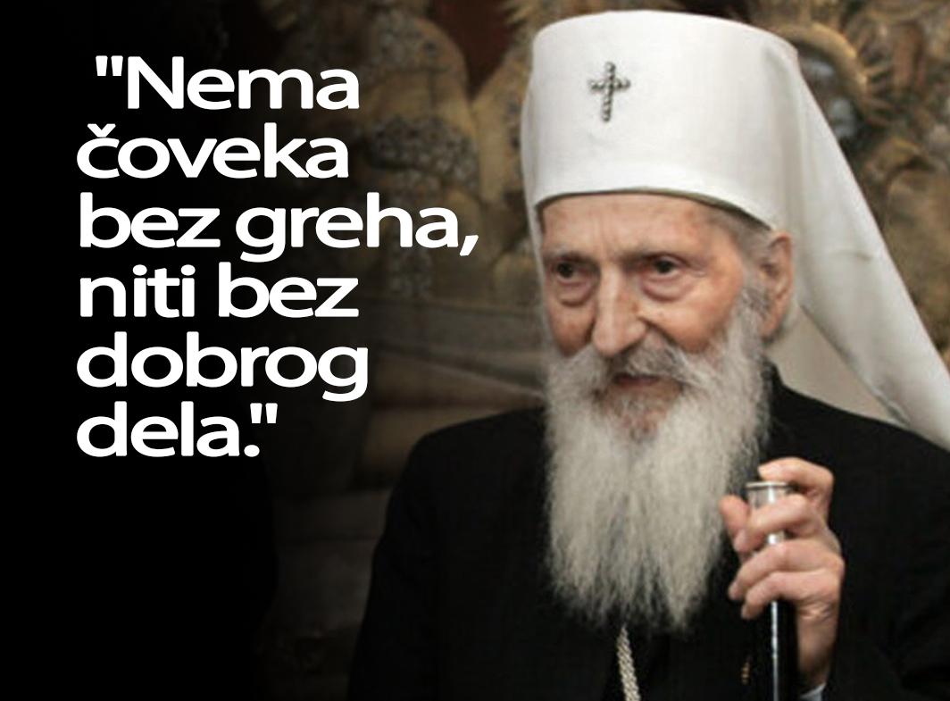 patrijarh pavle citati