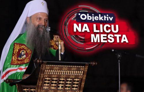 ZELENA odora patrijarha Porfirija nosi snažnu SIMBOLIKU: Vernicima u Podgorici je uputio važnu poruku