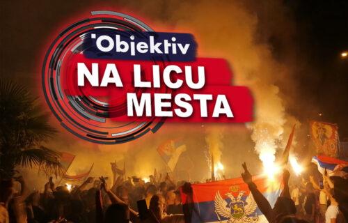 Nakon liturgije u Podgorici, atmosfera dovedena do USIJANJA: Orile se pesme o Kosovu (VIDEO)