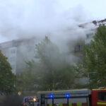 Istražuje se da li je u zgradi u Švedskoj postavljena EKSPLOZIVNA naprava: Požar još NIJE pod kontrolom