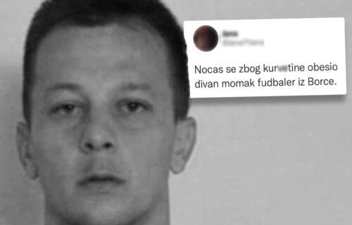 "Misteriozna SMRT fudbalera u Borči: Divan momak se OBESIO zbog ""sumnjive devojke""? (FOTO)"