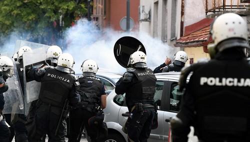 Potvrđeno: Policija na Cetinju koristila GUMENE METKE