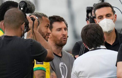 Mesi kao fotograf pregovarao sa Brazilcima, pa besno poručio: Ovo je katastrofa! (VIDEO)