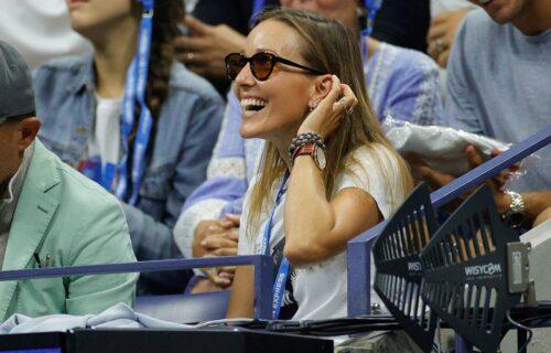 Jelena rasplakala devojku na US openu: Potez Novakove supruge joj naterao suze na oči (FOTO)