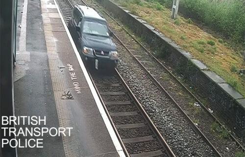 LUDOST platio zatvorom! Vozio železničkom prugom, pa ostavio auto i pobegao: Evo kako je otkriven (VIDEO)