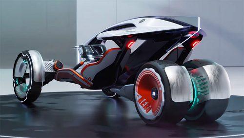 Automobil, motocikl ili nešto treće: Futuristički R RYZR mami uzdahe (VIDEO)