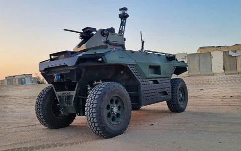 Opremljen mitraljezima, senzorima i kamerama: Ovaj ubojiti robot patroliraće granicom i bojištem (VIDEO)