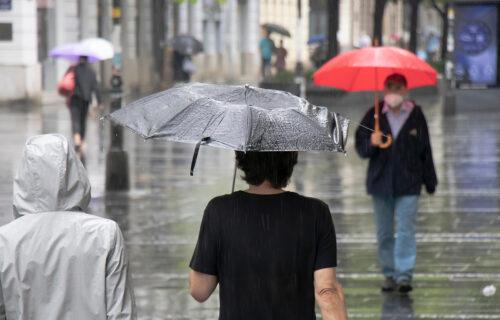 Sveže, mestimično sa KIŠOM: Samo u jednom delu Srbije NEĆE biti padavina, temperatura do 20 stepeni
