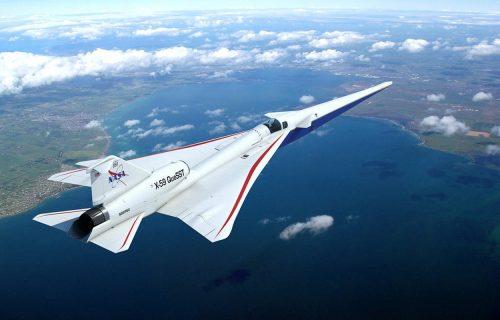 Futuristički X-59 je brži od zvuka, ali NEMA prozore: Vazdušni saobraćaj prati specijalan uređaj (VIDEO)