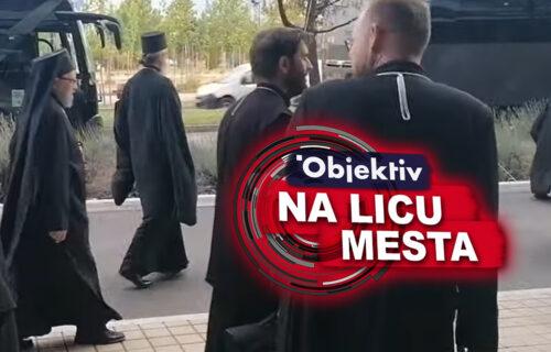 OTKAZAN put sveštenstva na Cetinje: Episkopi se vratili u Podgoricu na služenje liturgije (VIDEO)