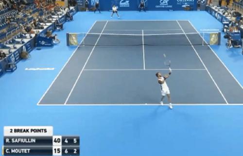 Najluđi servis u istoriji tenisa:Ovaj potez je ostavio sportsku javnost bez teksta (VIDEO)
