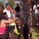 Besna gošća festivala šamarala redara, a onda ju je jednim UDARCEM poslao u carstvo snova (VIDEO)