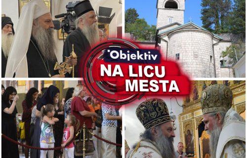 """Mitropolita Joanikija i patrijarha Porfirija narod u Podgorici dočekao povicima """"DOSTOJAN!"""" (FOTO/VIDEO)"""