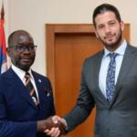 Udovičić se sastao sa ministrom sporta Ugande: Srbija će biti domaćin velikog takmičenja (FOTO)