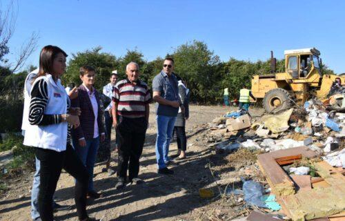 Brnabić i Vujović obišle RADOVE na deponiji u Pećincima: Radimo VAŽAN posao za čistiju budućnost (FOTO)