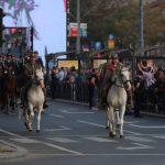 Konjica PARADIRA kroz Beograd: Veličanstven doživljaj, defile krenuo ka spomeniku Stefanu Nemanji (FOTO)