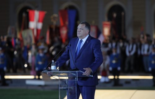 """""""Naša otadžbina je Srbija"""": Dodik se obratio na proslavi Dana srpskog jedinstva (FOTO)"""