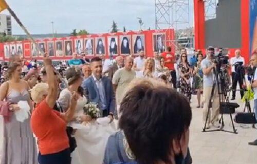 Samo neka je veselo: Prva svadba nakon ustoličenja mitropolita Joanikija (VIDEO)