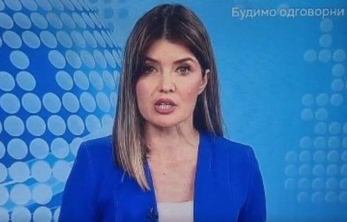 Nestvaran kiks voditeljke RTS: Zbog Lea Mesija i Partizana smeje joj se cela Srbija (VIDEO)