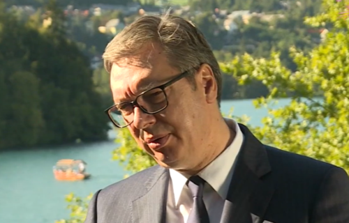 Predsednik Vučić iz Slovenije UPOZORAVA: Lažna država Kosovo ima novi plan