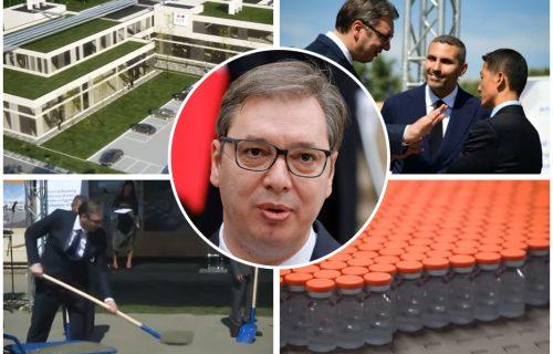 Vučić: Ponosan sam što ćemo imati našu, SRPSKU fabriku vakcina, nećemo morati da čekamo na tuđe! (VIDEO)