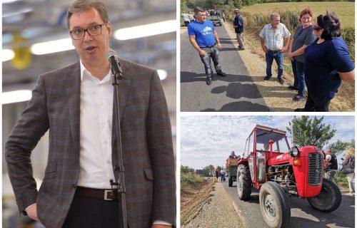 Vučićev potez ODUŠEVIO GRAĐANE: Decenijama čekali na put, a onda im predsednik promenio život iz korena