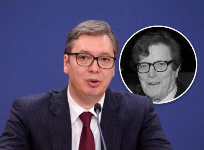 """Predsednik Vučić izrazio saučešće povodm smrti Minje Subote: """"Takvi junaci odlaze samo u nezaborav"""""""
