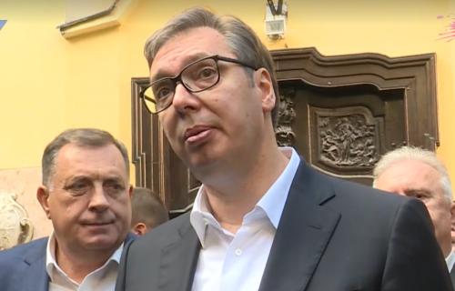 """Vučić odgovorio na NAPADE iz Hrvatske: """"Mogu da kukaju i da plaču - Srbija će da ih pretekne"""""""