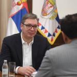 Predsednik Vučić primio ambasadora Ujedinjenih Arapskih Emirata Mubaraka Al Daherija (FOTO)