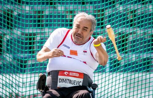 Treća medalja u Tokiju za Srbiju u istom danu: Željko Dimitrijević uzeo srebro u bacanju čunja!