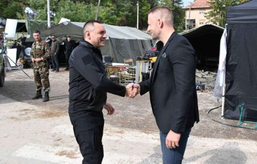 """Ministar Vulin na snimanju filma """"Oluja"""": Nikada više niko umesto Srba neće pisati njihovu istorij (FOTO)"""