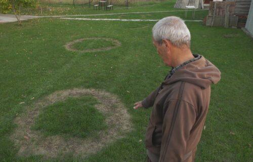 MISTERIJA kod Čačka plaši meštane: Krugovi se pojavili u Dragovom dvorištu, jedno je posebno ČUDNO (FOTO)