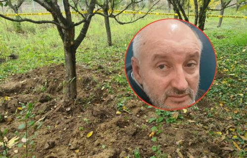 EKSKLUZIVNO: Na ovom mestu je Goran Džonić zakopao ukradeni novac porodice Đokić (FOTO+VIDEO)