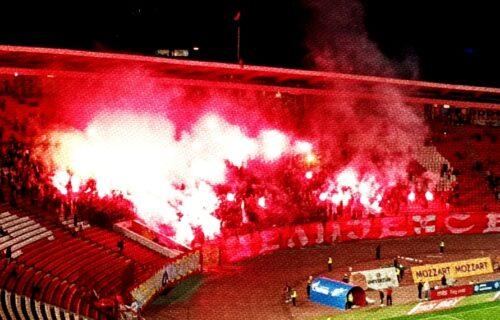 """""""Delije"""" ušle na stadion: Prva pesma nakon bojkota podigla je sve na tribinama!  (VIDEO)"""