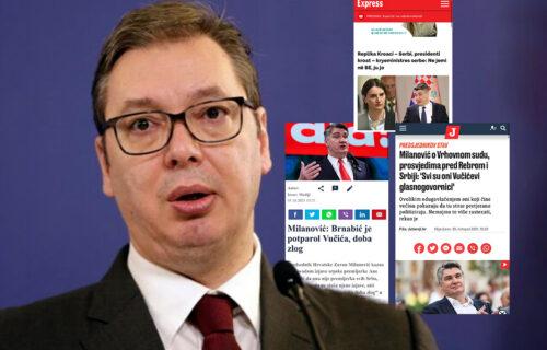 Šta je zajedničko hrvatskim, Đilasovim i Kurtijevim medijima? MRŽNJA prema Vučiću i uspesima Srbije!