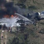 SRUŠIO se avion sa 21 putnikom: Masivni oblaci crnog dima, vatrogasci pokušavaju da ugase VATRU (VIDEO)