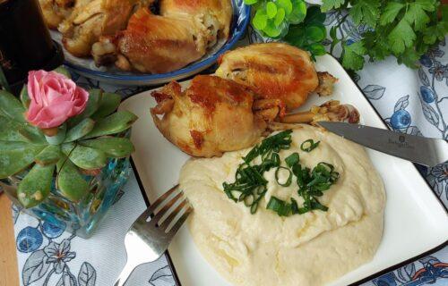 Fantastičan prilog uz bilo koje meso: Zaboravite krompir, napravite pire od karfiola (RECEPT+VIDEO)