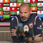 Nove loše vesti pred evropsko gostovanje: Stanković govorio o velikim problemima uoči puta u Dansku!