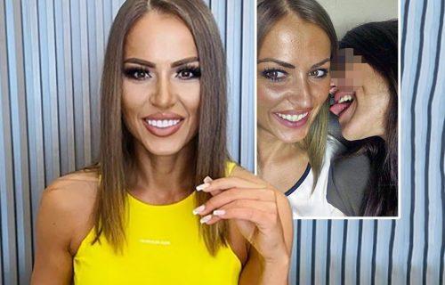 Dijana u LEZBO AKCIJI: Isplivale nove provokativne fotografije Hrkalovićeve sa atraktivnom crnkom (FOTO)
