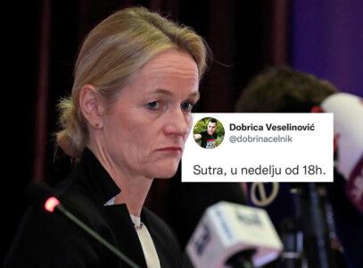 Viola fon Kramon promoviše beogradsku opoziciju: Navijam za Kurtija, Veselinovića i Zelenovića (FOTO)