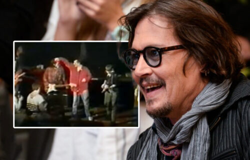 Isplivao snimak Džonija Depa STAR 30 godina: Slavni glumac delio scenu sa našim ČUVENIM bendom (VIDEO)