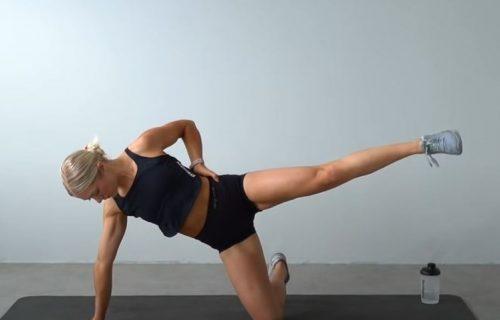 Kako da zategnete noge i sagorite višak kalorija? 30 minuta vežbi za donji deo tela (VIDEO)