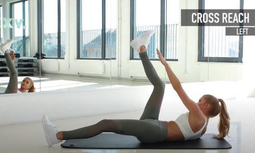 Za pločice na stomaku i oblu zadnjicu: 20 minuta najefikasnijih kućnih vežbi (VIDEO)