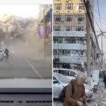 U STRAŠNOJ eksploziji poginula najmanje jedna osoba: Od zgrade ostao samo betonski KOSTUR (VIDEO)